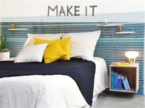 diy tete de lit capitonnee diy r 233 aliser une t 234 te de lit avec des tasseaux leroy merlin