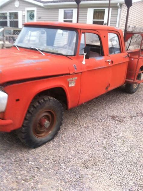 What will be your next ride? 1970 dodge crew cab power wagon 4x4 for sale - Dodge Power ...