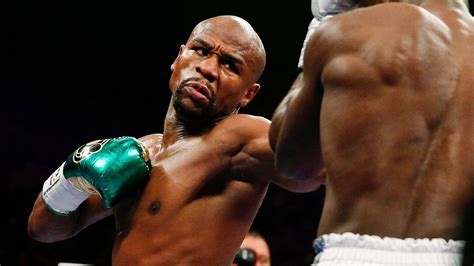 Floyd Mayweather wins Sugar Ray Robinson Fighter of the ...