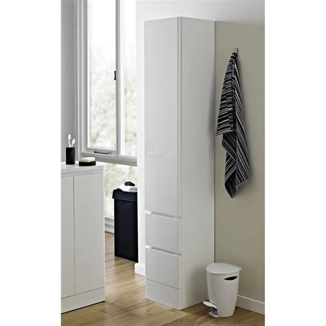 "Buy Soft Close White ""Zurich"" Bathroom Tallboy Back2BATH"