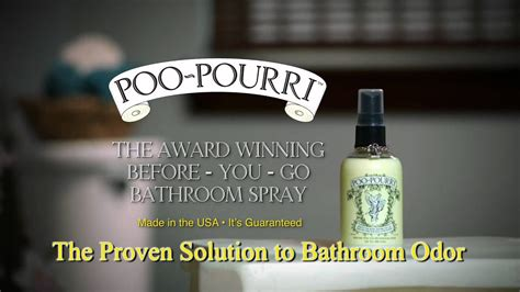 poo pourri    bathroom spray deodorizer youtube