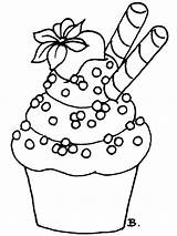 Coloring Birthday Cupcake Printable Sheets Adult Drawing Holiday Mycoloring Cake Leaf Labor Chinese Template sketch template