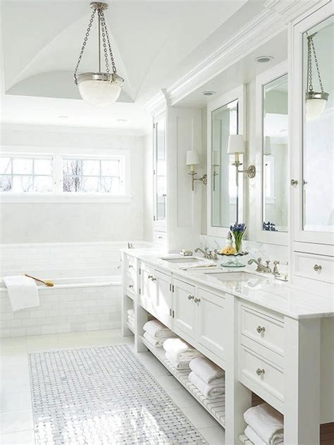 bathroom ideas white 11 bright white bathrooms cococozy