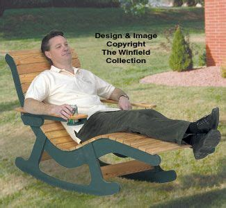 chaise lounge rocker wood plans stretch    lounge