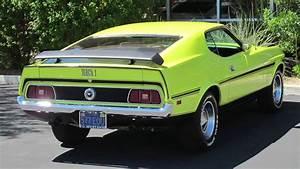 Medium Green 1972 Ford Mustang