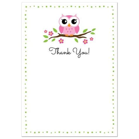 animal thank you card template 44 best images about thank you cards on