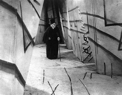 The Cabinet Of Doctor Caligari by On White Walls Gilbert Garcin