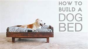 How To Build a Mid Century Modern Dog Bed