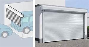 Porte De Garage A Enroulement : des portes de garage pour tous les budgets bienchoisir ~ Dailycaller-alerts.com Idées de Décoration
