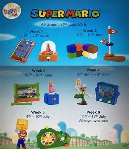 Take A Cheeky Peek At The Super Mario Happy Meal Toys