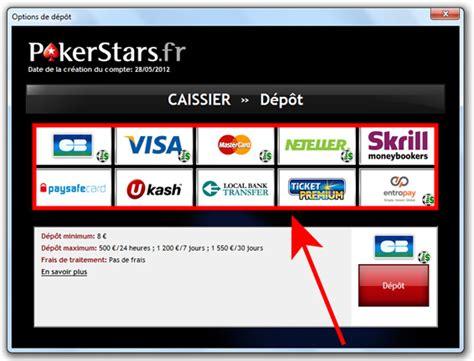 Déposer De L'argent Sur Pokerstarsfr  Comment Faire