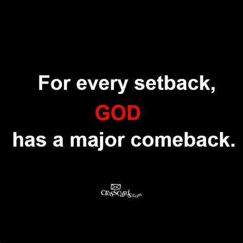 minor setback major comeback quotes