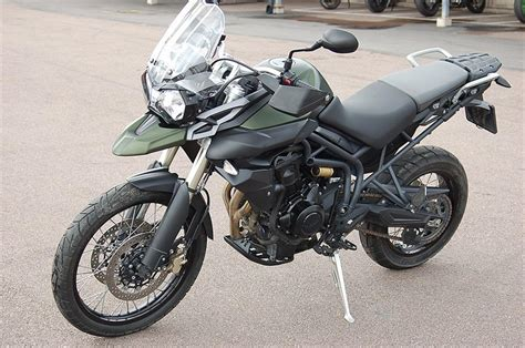 2011 Triumph Tiger 800 Breaks Cover