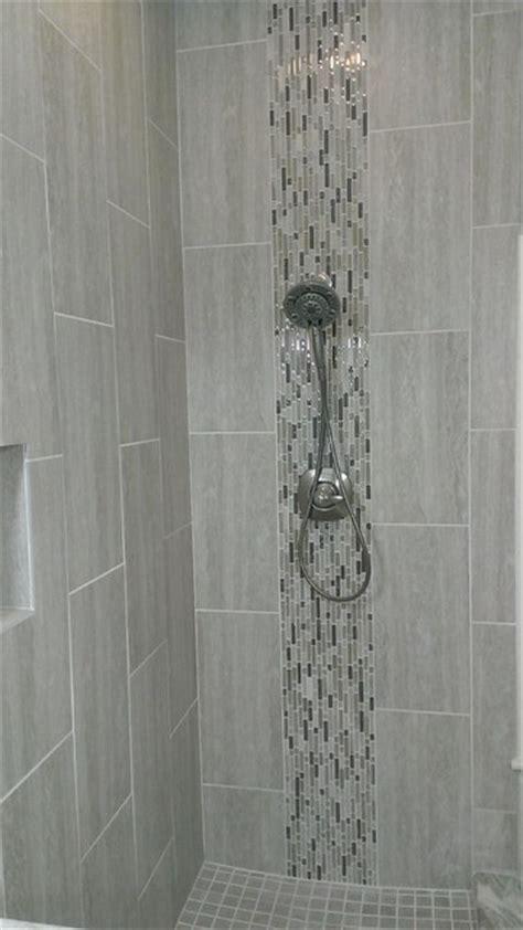 "MASTER BATHROOM   Complete remodel 12"" x 24"" Vertical Tile   Contemporary   Bathroom   austin"