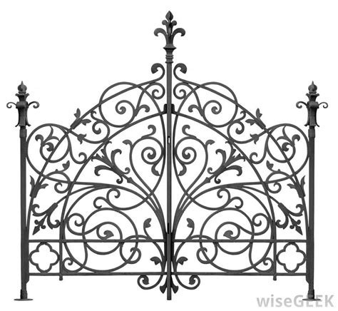 wrought iron what is wrought iron fence with pictures