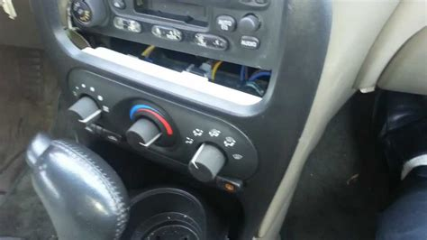 ac direction control unit replacement  air conditioning