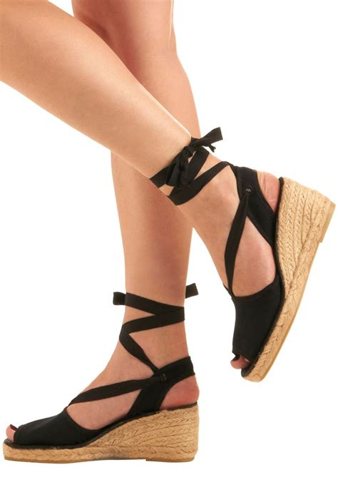 lace up wedge shoes thinking back on yesteryears