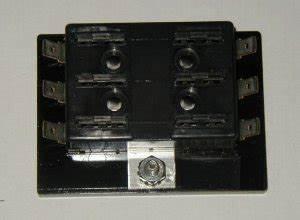 Custom Hot Rod Fuse Box : 6 fuse panel atc ato type fuses no ground buss perfect for ~ A.2002-acura-tl-radio.info Haus und Dekorationen