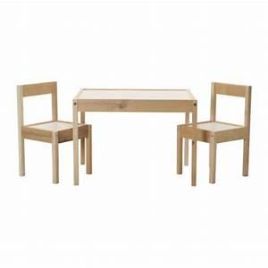 Kindertisch Mit Stühlen Weiß : l tt kindertisch mit 2 st hlen ikea ~ Michelbontemps.com Haus und Dekorationen