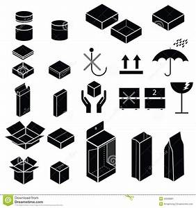 Packaging And Fragile Symbol Vector Stock Vector - Image ...