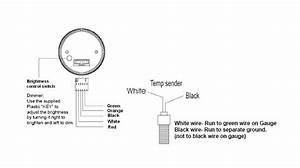 How To Install A Dual Color Water Temp Digital Gauge