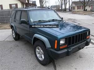 1997 Jeep Cherokee Xj Four Door 4x4 Five Speed Manual Rare