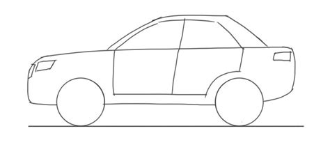 Car Drawing For Kids