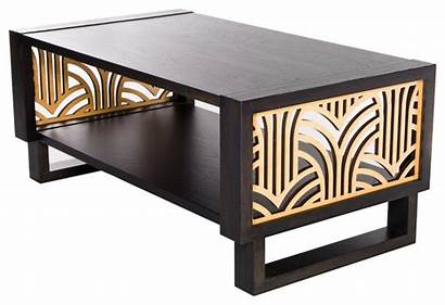 Coffee Tables Deco Table Modern Twist Transitional