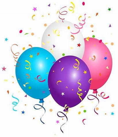 Confetti Balloons Clipart Clipartmag