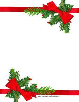 christmas border templates customize
