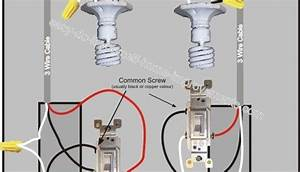 How To Wire A Series Of Lights To A Three Way Switch
