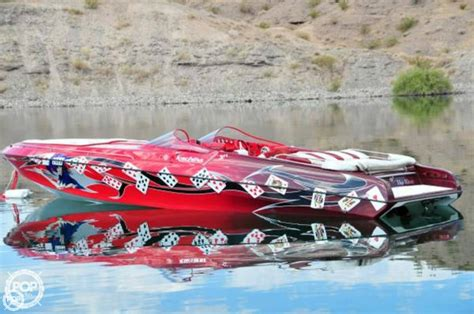 High Performance Boats Lake Havasu by 2008 Used Kachina 30 Drone Open Bow High Performance Boat