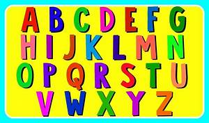 learn abc alphabet with building blocks lowercase abc With abc learning letters