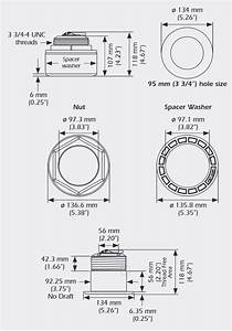 Raymarine Ss164 Stainless Steel Transducer