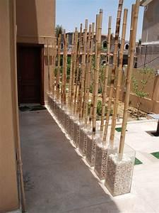 Blumenkübel Als Raumteiler : raumteiler bambus einrichtung pinterest felsen ~ Michelbontemps.com Haus und Dekorationen