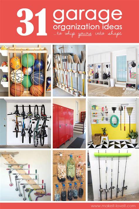 31 Garage Organization Ideasto Whip Yours Into Shape