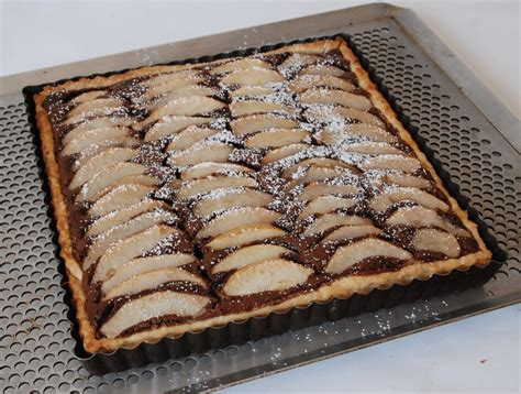tarte poire chocolat pate feuilletee tarte poires frangipane chocolat cf c felder p 226 te feuillet 233 e au cook in cuisine plurielle