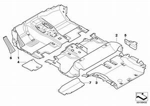 Bmw X5 Floor Covering Rear  Beige  Body  Interior