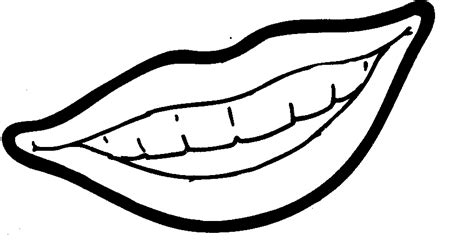 lips coloring pages clipartsco