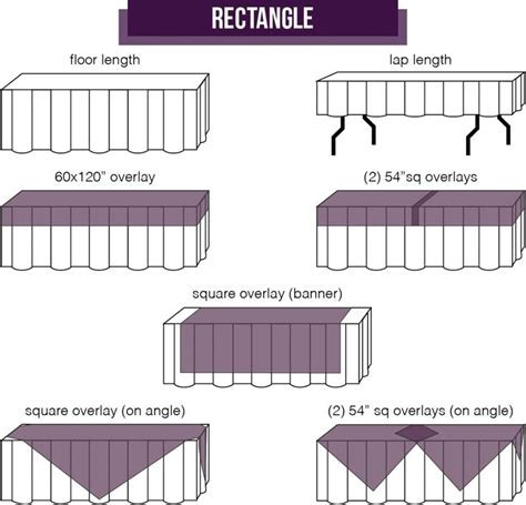 how to make a tablecloth for a rectangular table 17 best images about party layout on pinterest catering