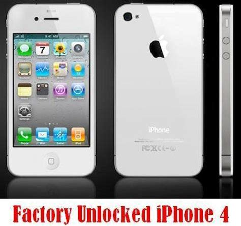 buy officially factory unlocked iphone 4 in uk