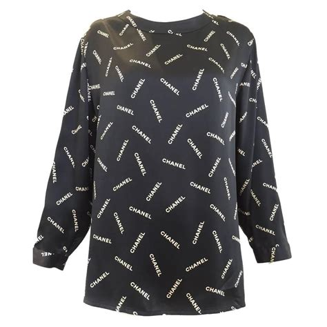 silk charmeuse blouse 1980s chanel silk charmeuse blouse at 1stdibs