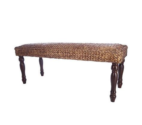 pottery barn bench copy cat chic pottery barn seagrass bench