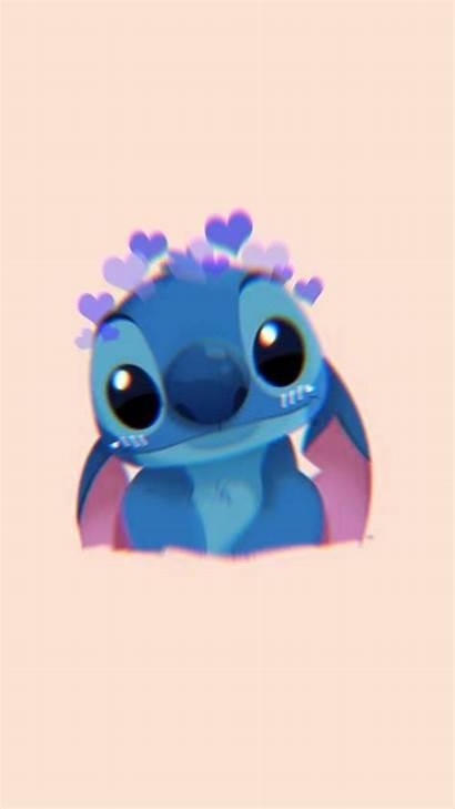 Stitch Disney Zedge Wallpapers Hearts Liloandstitch Alien