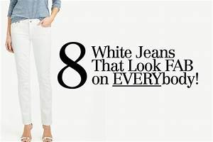 The Unicorn of Your Wardrobe: Flattering White Jeans
