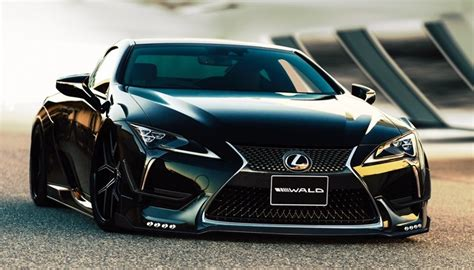 Wald Lexus Lc Styling Kit Is A Work Of Japanese Art