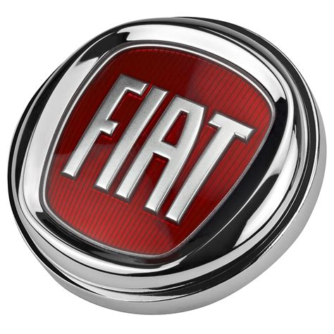 paper weight new fiat logo in nickel plated metal