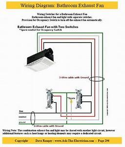 Bathroom Ceiling Fan Wiring Diagram : guide to home electrical wiring fully illustrated ~ A.2002-acura-tl-radio.info Haus und Dekorationen