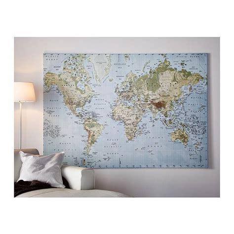 world map canvas ikea fysiotherapieamstelstreek