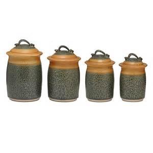 pottery kitchen canister sets stoneware canister set kitchen storage jars uncommongoods